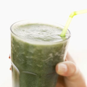 Delicious and Healthy Minty and Vegetable Filled Smoothie