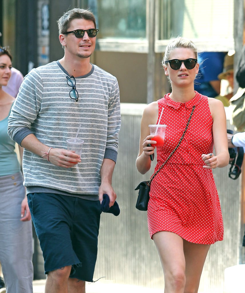 Josh and Sophia Start Their Holiday Weekend With a Sweet Stroll