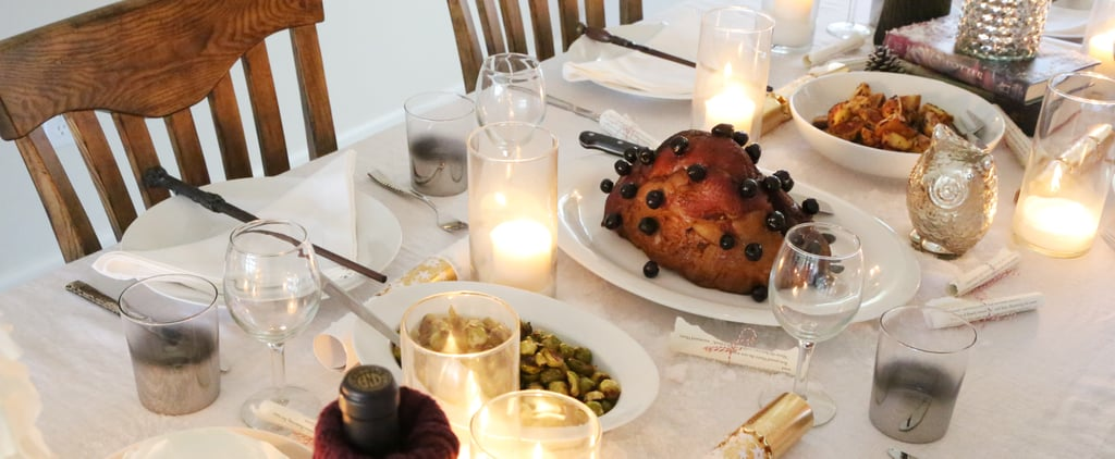 How to Replicate a Very Happy Harry Potter Christmas Feast