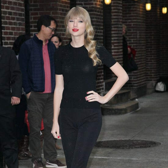 Taylor Swift Wearing All Black