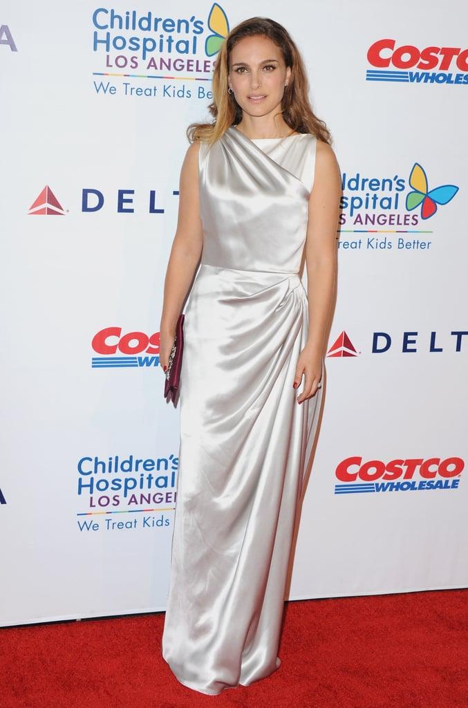 Natalie Portman in Christian Dior at the Children's Hospital LA Gala in 2014