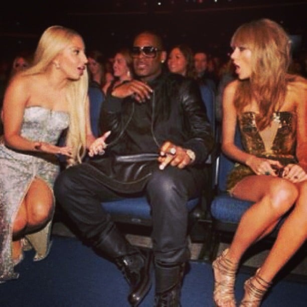 R. Kelly was sandwiched between Lady Gaga and Taylor Swift. Source: Instagram user rkelly