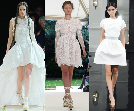 Photos of All White Ensembles on the Spring 2011 Catwalk