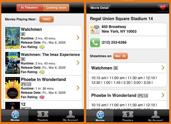 Fandango Makes iPhone App