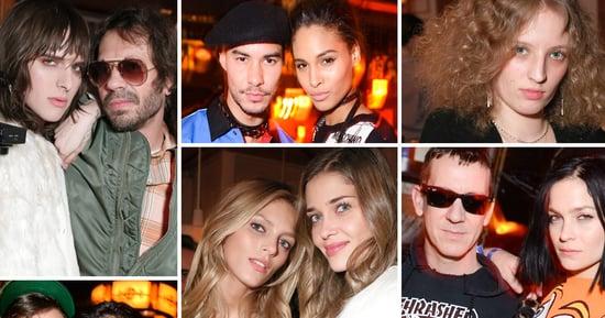 Caroline Vreeland and Hari Nef Partied at Fashion Week