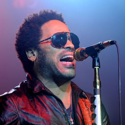 Lenny Kravitz At a Concert in London