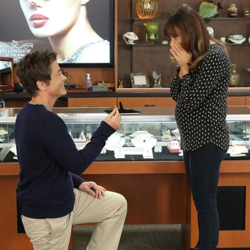 Chris and Ann Get Engaged on Parks and Recreation
