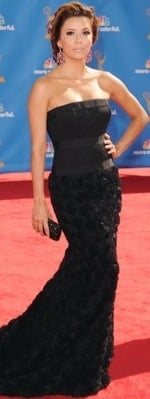 Eva Longoria at the 2010 Emmy Awards