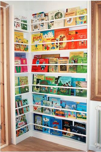 Color-Coded Bookshelf