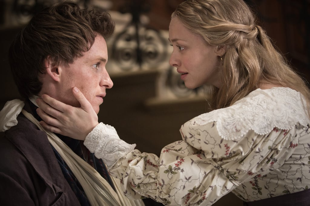 Eddie Redmayne and Amanda Seyfried in Les Misérables.