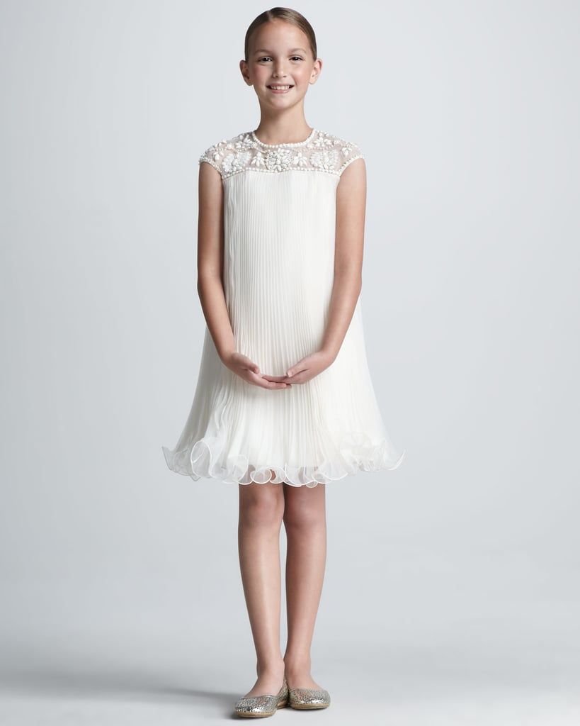 She'll have red-carpet-worthy style in Marchesa's Neiman Marcus + Target line hand-beaded dress ($100).