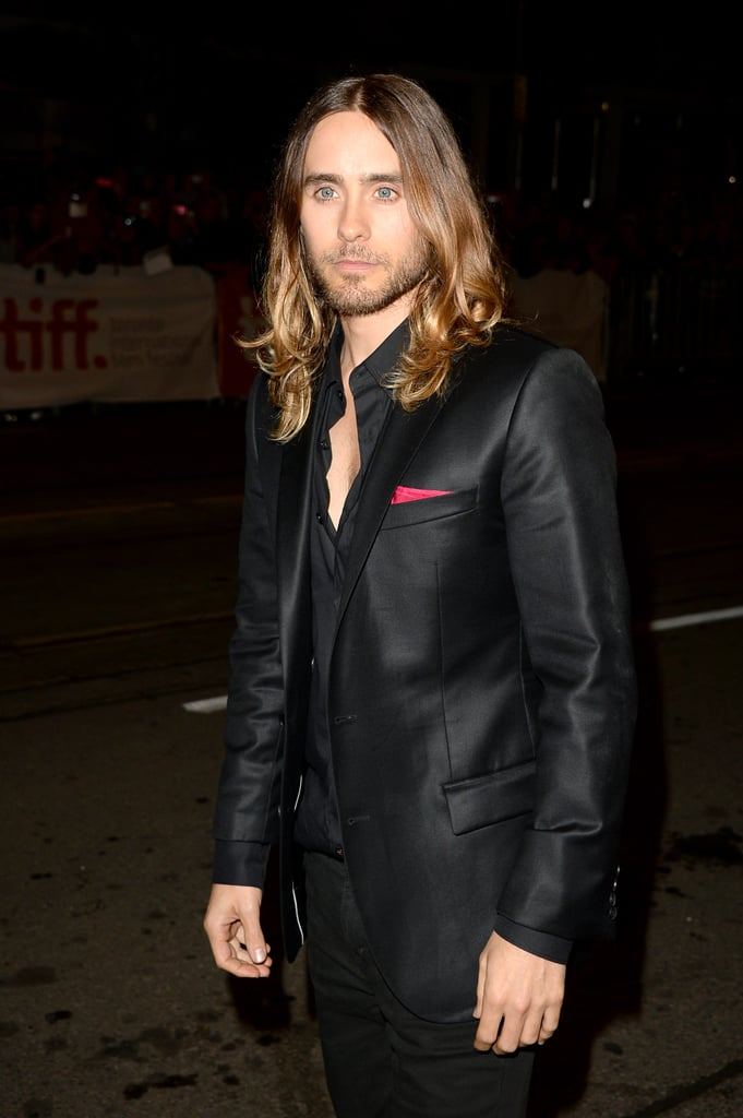 Jared Leto arrived at the event.