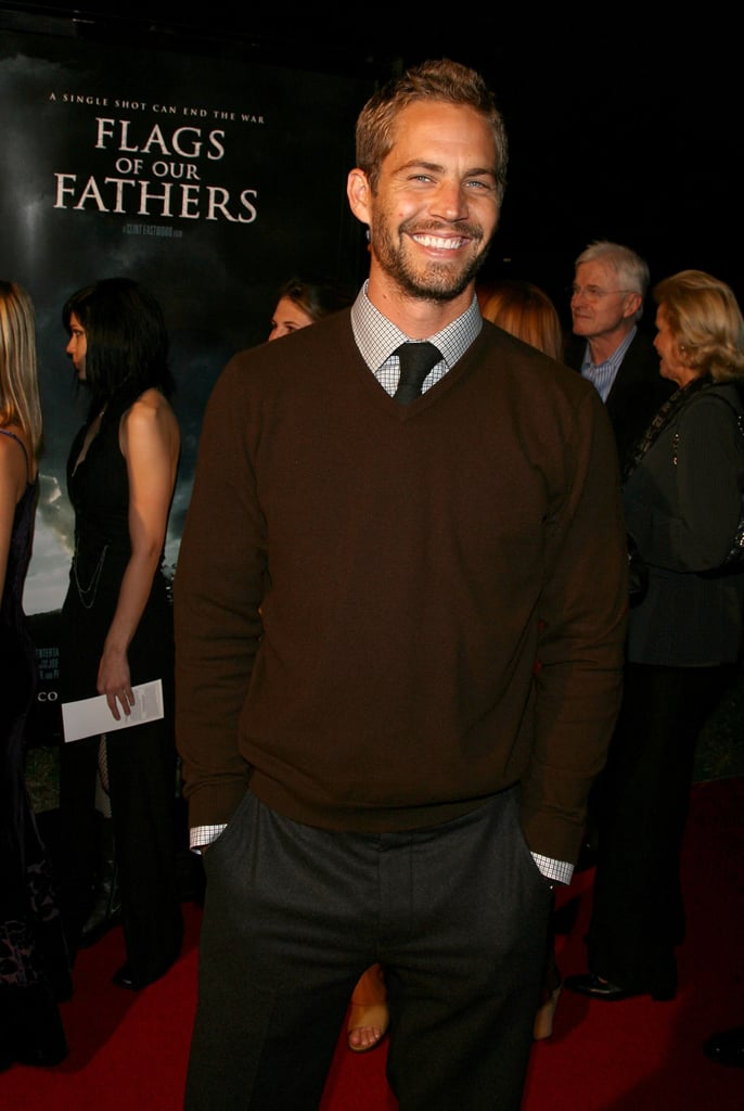 He walked the red carpet at the premiere of his film Flags of Our Fathers in LA in October 2006.