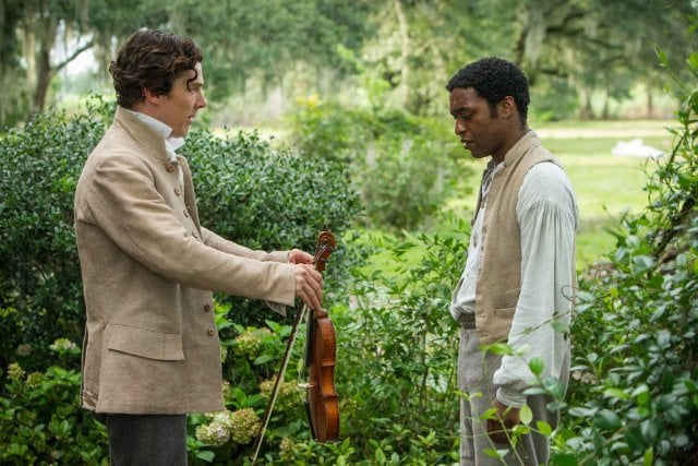 12 Years a Slave  What it's about: A free black man from the North (Chiwetel Ejiofor) is abducted and sold into slavery in pre-Civil War America. The movie tells the tale of the time during his enslavement, and the various owners he encounters. Why we're interested: I know this movie sounds like a bummer, but it's directed by Steve McQueen (Shame) and stars Brad Pitt, Michael Fassbender, Sarah Paulson, Paul Giamatti, and Alfre Woodard. It's gotta be good. When it opens: Oct. 18 Watch the trailer for 12 Years a Slave.