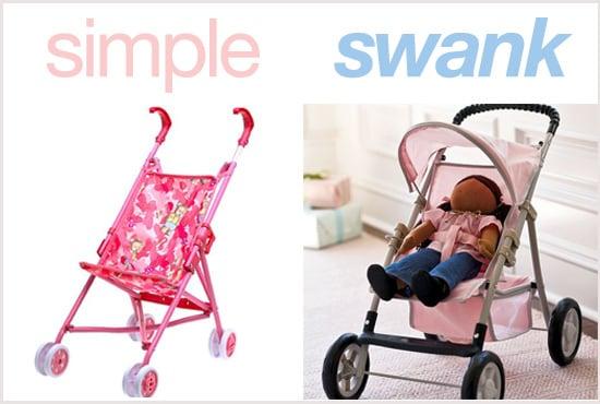 Simple or Swank: Doll Strollers