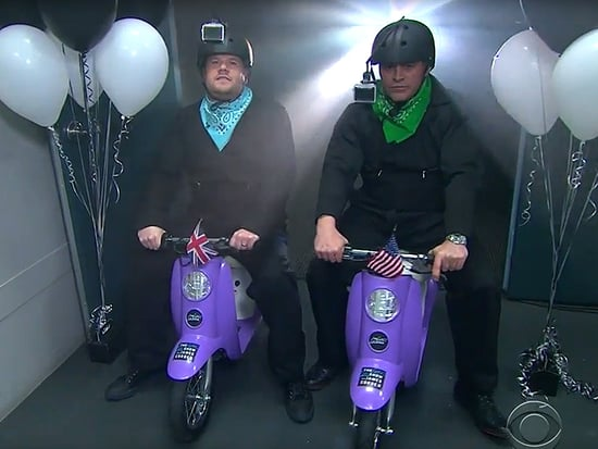 Who Needs Carpool Karaoke When You Have GoPros and Mini Mopeds? James Corden and Matt LeBlanc Go Head-to-Head on Bottom Gear