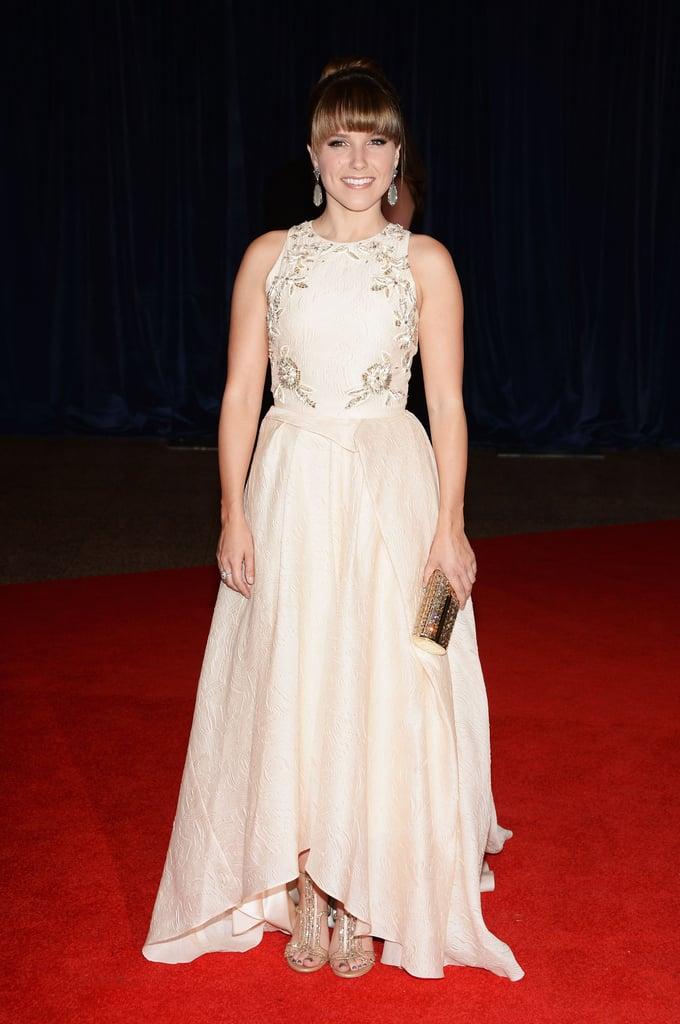 Sophia Bush attended the 2013 White House Correspondents Dinner in Lela Rose.