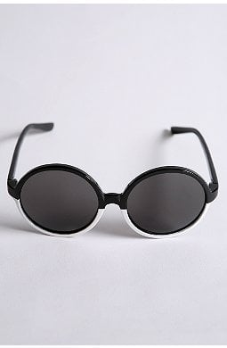 <b>Round Sunglasses</b>. $24 @ Urban Outfitters