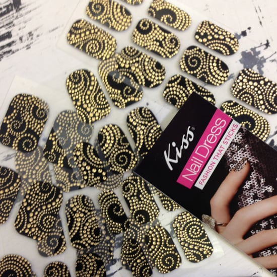 These Kiss nail wraps were a hit on the Whit runway.