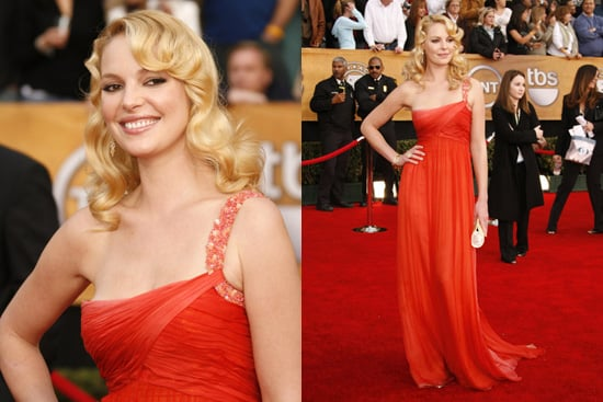 SAG Awards Red Carpet: Katherine Heigl