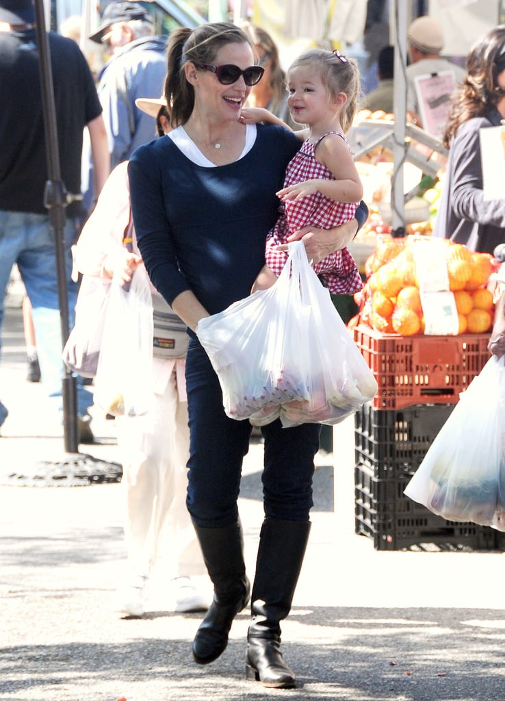 Seraphina and Jen smiled during their shopping trip.