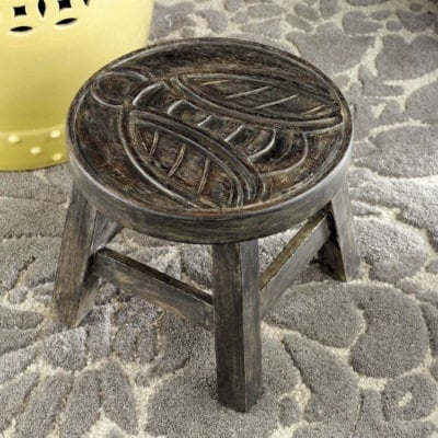 Bees are another insect that have been popular for a while. But will 2011 be its year to shine? Bee designs, including this Bee Stool ($45), may indicate that bees are even more popular in 2011 than they were in 2010.