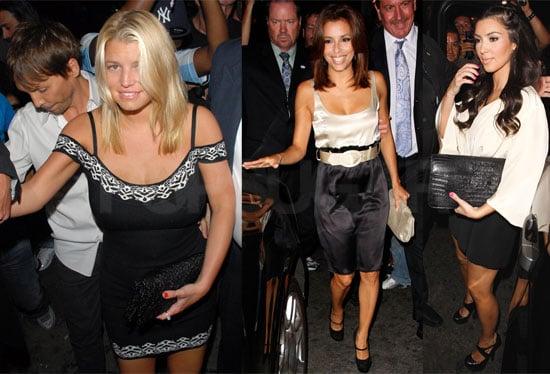 Photos of Jessica Simpson, Eva Longoria, Kim Kardashian at Ken Paves Birthday