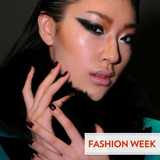 Fashion Week Trend to Watch: Almost-Black Nails