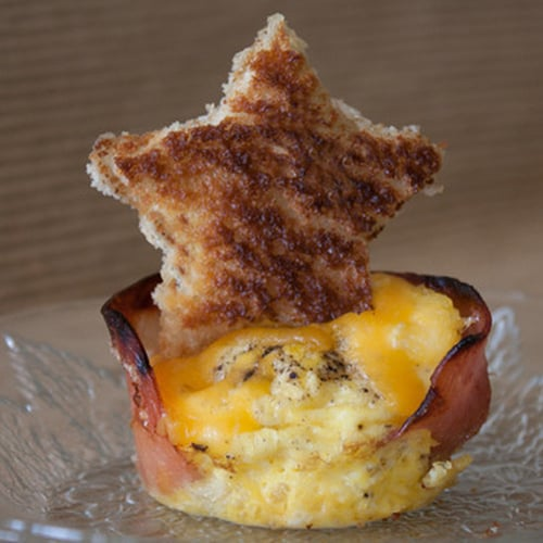 You're a Star Canadian Bacon, Egg, and Cheese Muffin Cups