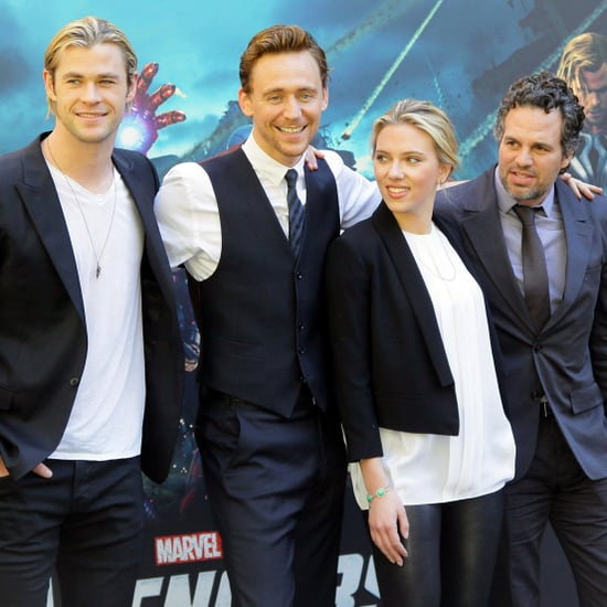 Scarlett Johansson The Avengers Press Call in Rome Pictures