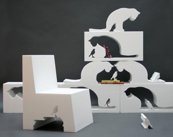 Cat-Shaped Furniture