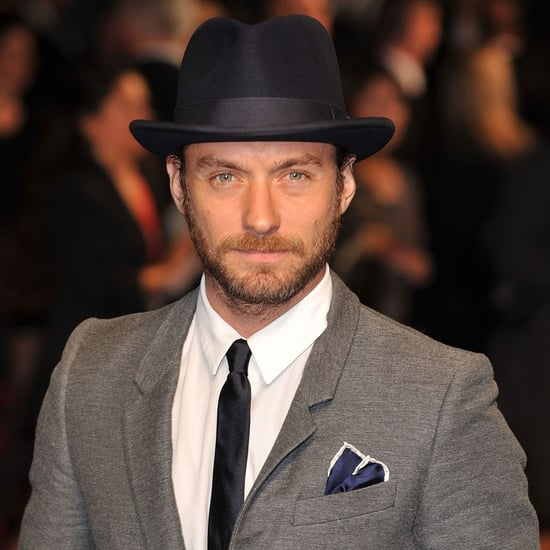 Jude Law at 360 Premiere in London Pictures