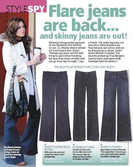Trend Alert: Wide Legged Jeans!