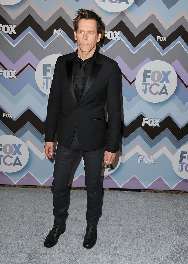 Kevin Bacon walked the carpet.