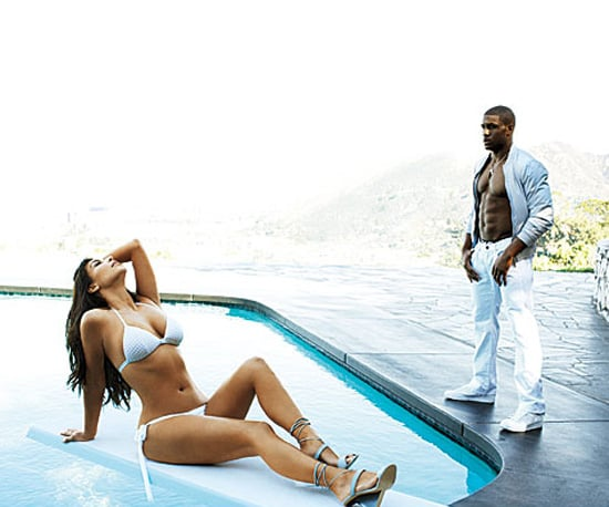 Kim and Reggie made a fine pair in GQ magazine's March 2009 issue.