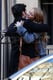Penn Badgley Spends 24th Birthday Embracing Ex Blake Lively on Gossip Girl Set