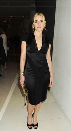 Kate Shines in All Black
