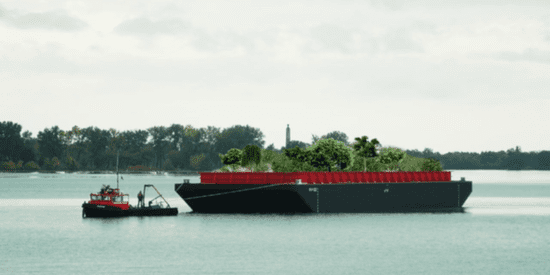 People Will Soon Be Able To Forage For Free Food In This Floating Forest