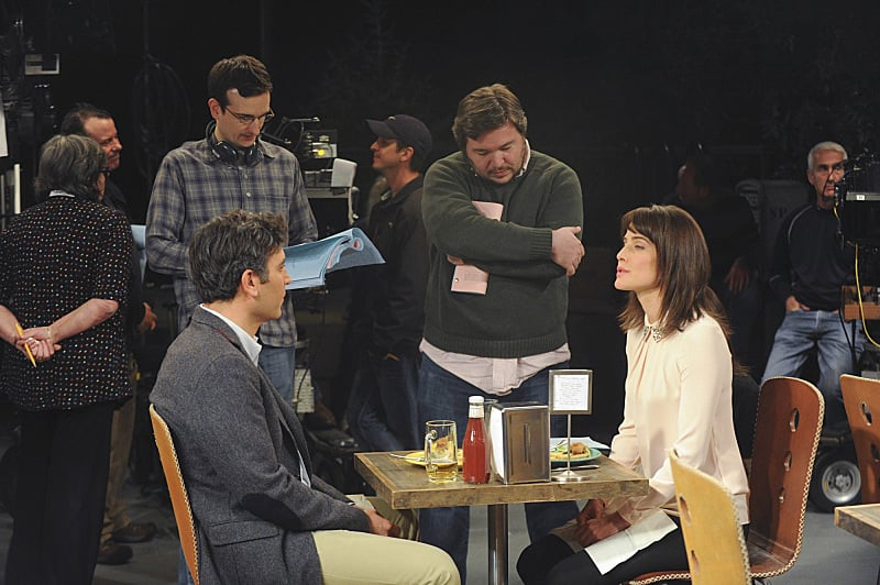 Radnor and Smulders shot a scene that was cut from the finale.