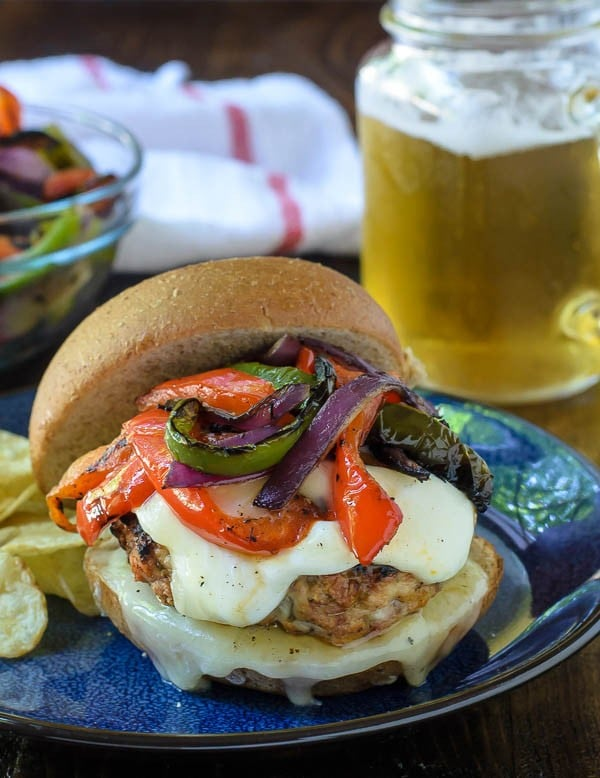 Fresh Herb-Filled Turkey Burger
