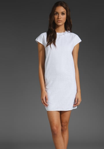 See By Chloe Eyelet Shift with Ruffles ($495)