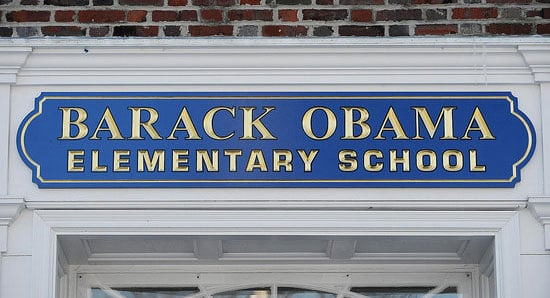 Sugar Shout Out: The New Barack Obama Elementary School