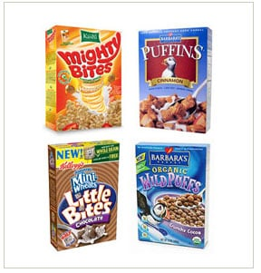 Healthy Kid Cereals