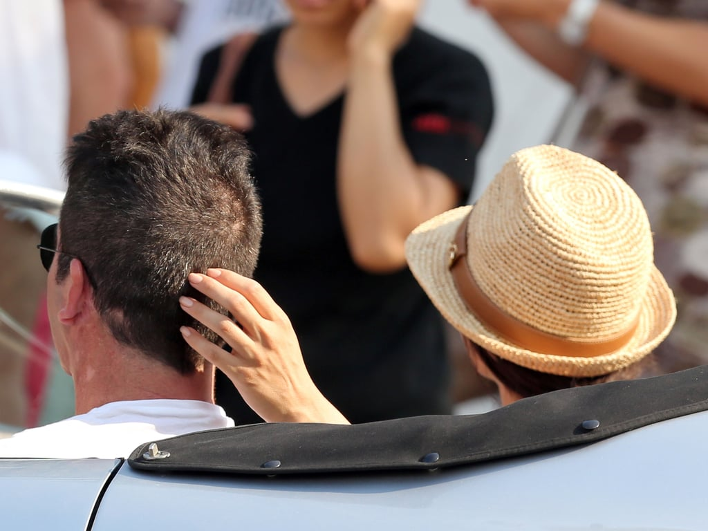 Serious in St.-Tropez: See Simon Cowell and Lauren Silverman's PDA-Filled Getaway