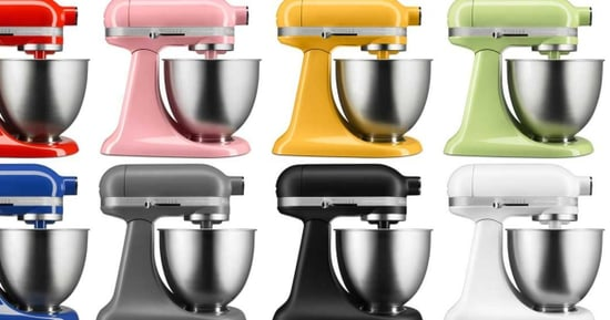 KitchenAid's New Mini Stand Mixer Targets Millennials And Baby Boomers, Because Of Course