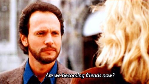 Harry and Sally Ease Into More of a Friendship