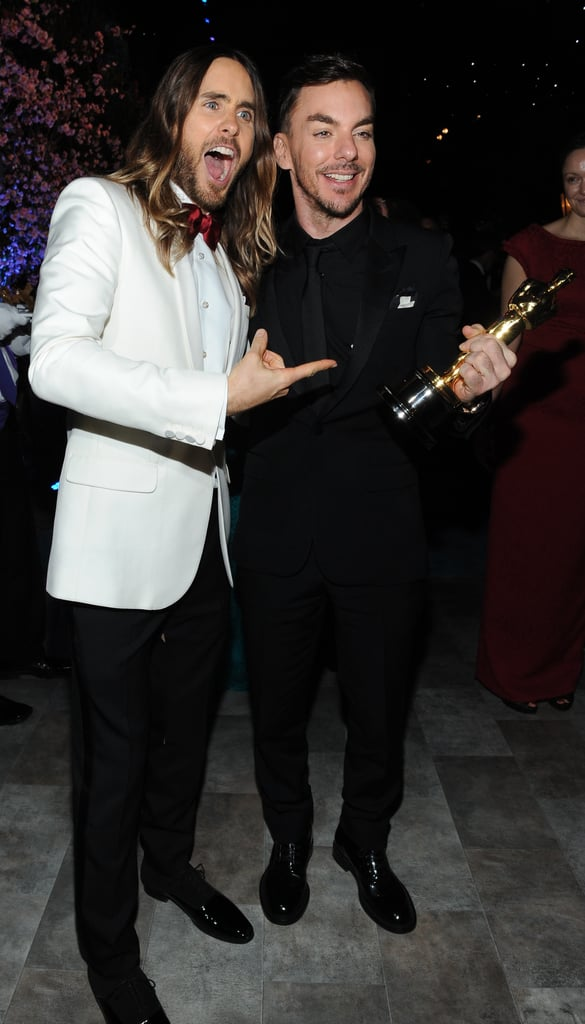 Jared Leto posed with his brother, Shannon Leto.