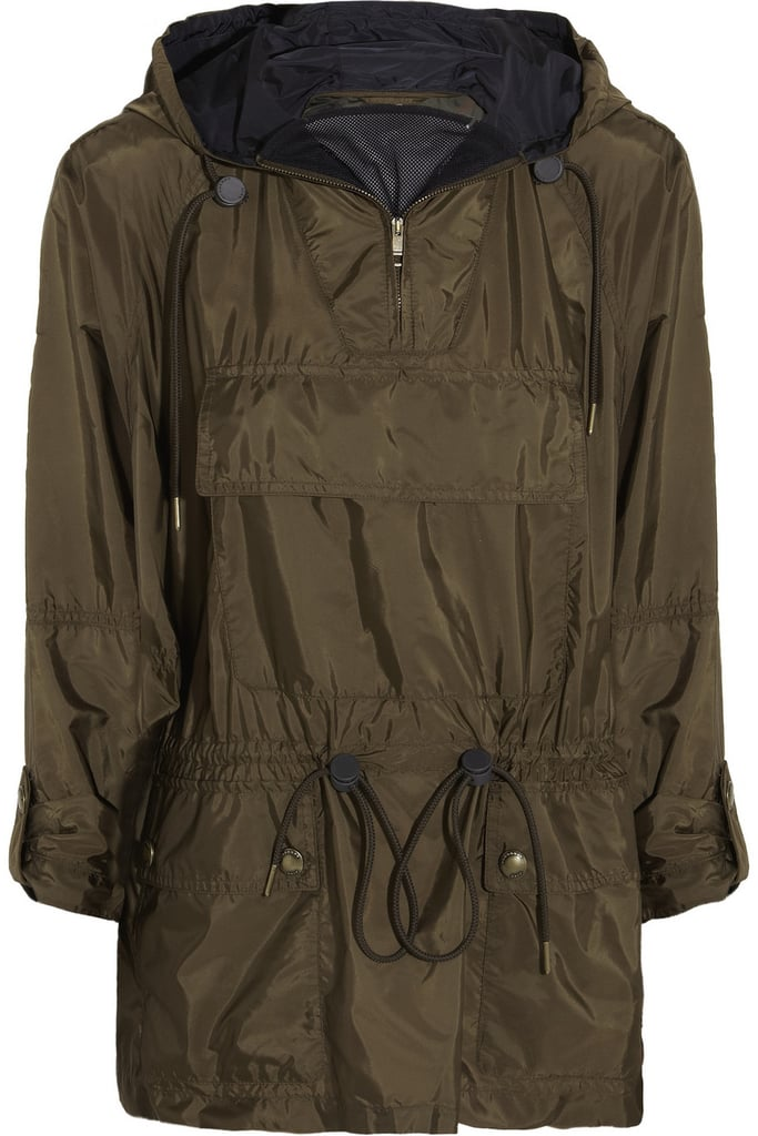 Burberry Packaway drawstring shell jacket ($595)
