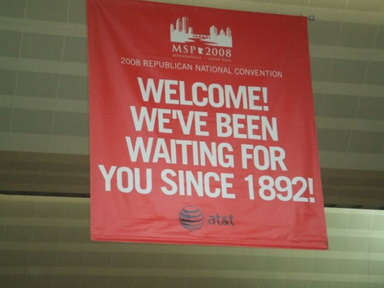 I'm Here! Republican Convention Hangs In Balance In St. Paul