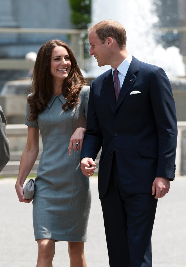 In 2011, the newlyweds kept close in Canada.